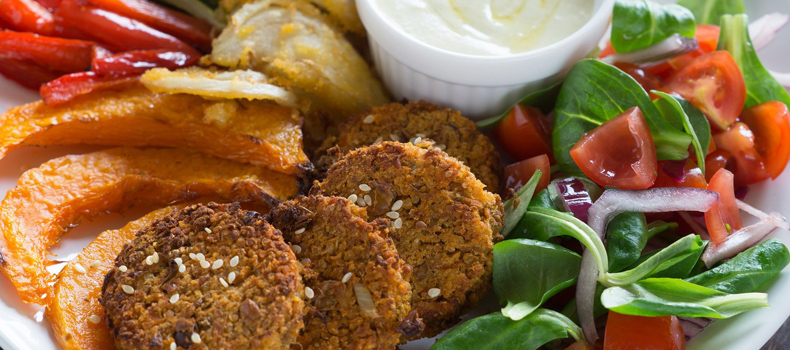 Chickpea and Sesame Burgers